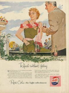 40 Historical Pepsi Cola Ads Which Will Make You Smile Vintage Advertisements, Vintage Ads, Vintage Food, Pepsi Advertisement, Advertising, Your Smile, Make You Smile, Beatles Books, Coca Cola Ad