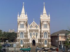 The Basilica of Our Lady of the Mount, more commonly known as Mount Mary Church, is a Roman Catholic Basilica located in Bandra, Mumbai Mumbai City, In Mumbai, Mount Mary, British Architecture, Religious Architecture, History Of India, World Images, Tourist Spots, Famous Places