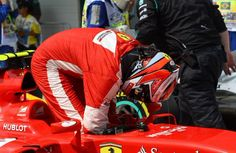 only p4 for Kimi but that was the best he could do with an old engine