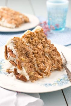 Hummingbird Cake - Do you like pineapples, bananas and shredded coconut?  Do you like deliciously layered cakes?  If you answered yes, then you are going to be in love with this cake.  A cake SO good, that it has actually become the most requested recipe in Southern Living magazine history!