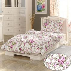 Daniela PROVENCE Collection pamut ágynemű, lila, 140 x 220 cm, 70 x 90 cm Provence, Comforters, Blanket, Furniture, Collection, Design, Home Decor, Spring, Creature Comforts