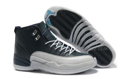 21aab9336767 Find Authentic New Air Jordan 12 Retro Obsidian White French Blue online or  in Footseek. Shop Top Brands and the latest styles Authentic New Air Jordan  12 ...