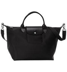 Longchamp Le Pliage Néo Medium Handbag Black #travel