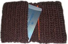 crochet cardholder