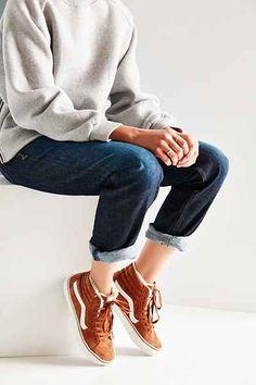Vans Sk8-Hi Fleece Sneaker