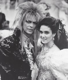 David Bowie and Jennifer Connelly in Labyrinth – 1986