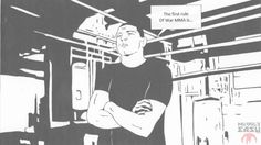 If Nick Diaz's War MMA promotion merged with Fight Club, this comic is exactly what it would be like