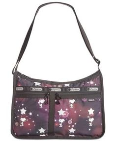 0746be612b LeSportsac Peanuts Collection Deluxe Everyday Bag & Reviews - Handbags &  Accessories - Macy's
