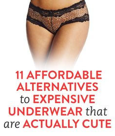 11 Affordable Alternatives to Expensive Underwear That Are Actually Cute