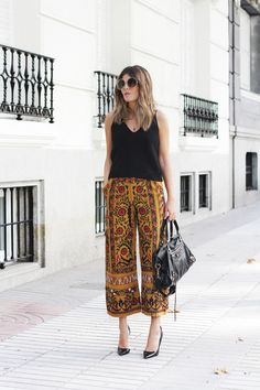Embroidered Pants | Mi Armario en Ruinas