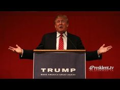 Donald Trump, Iowa Town Hall Meeting, June 4, 2015, Mason City, Iowa - YouTube