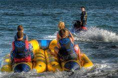 banana boat rides ...