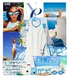 """stylo blue"" by licethfashion ❤ liked on Polyvore featuring Rebecca Minkoff, Illesteva, Kiel James Patrick and MIA"