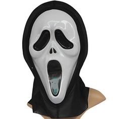 Screaming Ghost PVC Halloween Mask #Lovejoynet #Party #Mask