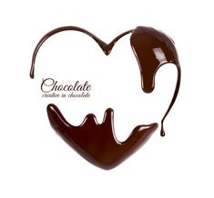 Picture of Chocolate in the form of heart. Melted chocolate syrup on white background. Liquid chocolate on a white background. stock photo, images and stock photography. Chocolate Logo, Chocolate Hearts, Chocolate Packaging, Chocolate Syrup, Chocolate Lovers, Melting Chocolate, Hot Chocolate, Chocolate Drawing, Candy Icon