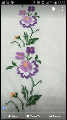 The most beautiful cross-stitch pattern - Knitting, Crochet Love Cross Stitch Letters, Cross Stitch Borders, Cross Stitch Samplers, Modern Cross Stitch, Cross Stitch Flowers, Cross Stitch Charts, Cross Stitch Designs, Cross Stitch Beginner, Cross Stitch Embroidery