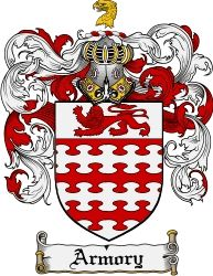 Armory Family Crest Coat of Arms #apparel #gifts #glassware #embroideries #prints #history #gift #scrolls #mugs #steins #flags #family #reunion #wine #glasses #genealogy #code of arms #shield #mousepads #shirts #t-shirts #jpeg