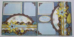 kiwi lane layouts | Designed by Debbie Budge Sunnybrook Lane, Scallops, Strips, TinyNature ...