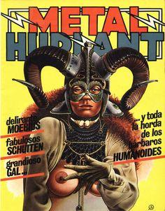 Metal Hurlant nº 2 - Ed. Nueva Frontera S.A. año 1981     Moebius - Schuiten - Gal - Druillet - Diego Manrique - Jodorowski .. etc