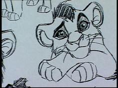 The Lion King II: model sheet