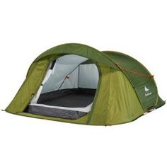 Camping tent (Suitable for 2 - 3 People) - Quechua Brand Solo Camping, Best Tents For Camping, Cool Tents, Tent Camping, Outdoor Camping, Outdoor Gear, Camping Checklist, Camping Hacks, Camping Stuff
