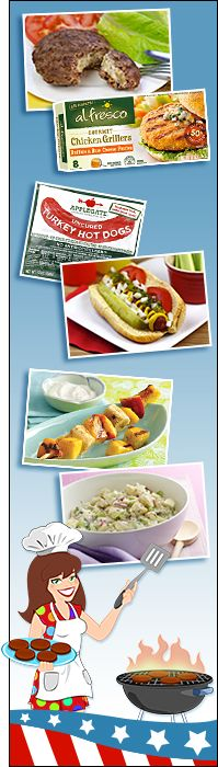 Healthy cookout alternatives!