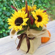 Easily make a trendy sunflower bouquet for less than half the cost using Dollar Store supplies.