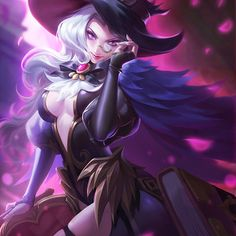 moba, Z zbyer Fantasy Demon, Demon Art, Fantasy Girl, Game Character, Character Design, Fantasy Portraits, Fantasy Artwork, Alucard Mobile Legends, Alice Cosplay