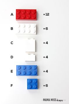 Study each country flag in a fun & educational way – with Legos from