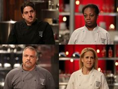 Four winners return to #CutthroatKitchen this Sunday at 10|9c to try their luck again!
