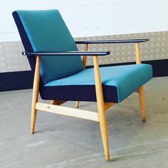 Chaise Vintage, Vintage Chairs, Vintage Furniture, Home Furniture, Furniture Design, Retro Armchair, Mid Century Modern Furniture, Danish Design, Armchairs