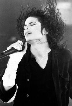 Michael Jackson. Riana says he looks pretty cool when he looks like that.