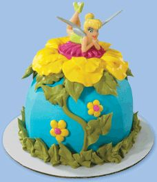 Tinkerbell products for cakes and cake decorating