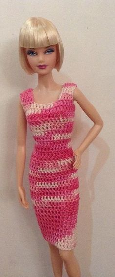 BArbie in Crochet dress