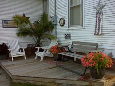 Our small deck