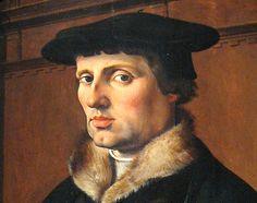 Portrait eines Mannes / Portrait of a man / portret van een man, Maarten van Heemskerck, 1529. Rijksmuseum Amsterdam.  www.kukullus.nl