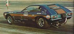 Mickey Thompson's Pinto funny car Hot Rod Magazine, March 1971