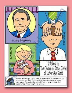 Church Membership: Primary Lesson Helps, Nursery Lesson 25 and Sunbeam Lesson 42 - I Belong to The Church of Jesus Christ of Latter-day Saints