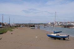 view upstream along Adur Estuary | by Environment Agency