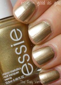 good as gold... Essie