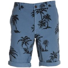 Franklin & Marshall Men's Blue Cotton Shorts ($213) ❤ liked on Polyvore featuring men's fashion, men's clothing, men's shorts, shorts, blue, mens clothing, mens blue shorts, mens shorts and men's apparel