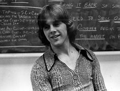 All the guys had this hair and these shirts in the late 60s and 70s