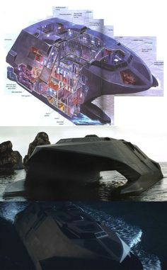 Undetectable Stealth Ship
