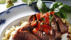 no - Finn noe godt å spise Frisk, Pot Roast, Lamb, Main Dishes, Steak, Beef, Ethnic Recipes, Food, Carne Asada