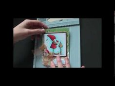 Splitcoaststampers cardmaking video tutorial: Double Dutch Fold  ... fold only .... decorate as desired ... YouTube