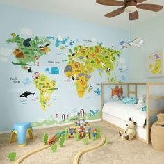 The Whole Wide World Wall Mural