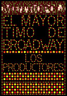 LOS PRODUCTORES (The Producers), el musical en Madrid.
