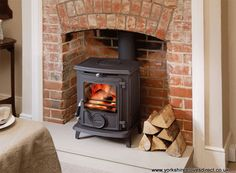 A cosy fire for a cosy home