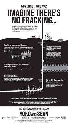Artists against Fracking @The New York Times fracking ad Yoko Ono & Sean Lennon