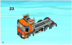 LEGO 4434 Dump Truck instructions displayed page by page to help you build this amazing LEGO City set Lego City Sets, Lego Sets, Lego Truck, Pvc Projects, Lego Construction, Lego Design, Lego Group, Group Of Companies, Dump Truck